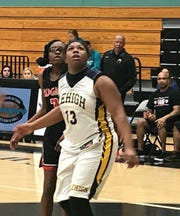 Lehigh senior Aliesha Curry scored 19 points and pulled down eight rebounds in Thursday's 70-45 loss to Toledo (Ohio)-Rogers in the first round of the Holiday Shootout on Thursday in Naples.