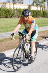 Robert Sciolino, 58, a huge supporter of the Pan-Florida Challenge Ride, died Dec. 19 when he was struck while riding his bike.
