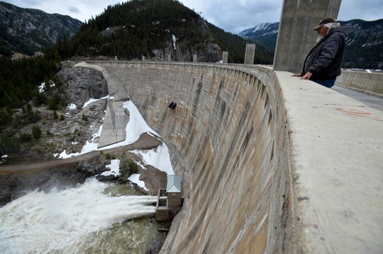 One resident at Friday's listening session in Lewistown asked why Gibson Dam was not being used for power. The dam is 195 feet tall concrete dam built between 1926 and 1929. The purpose of the dam is irrigation control of the Sun River.