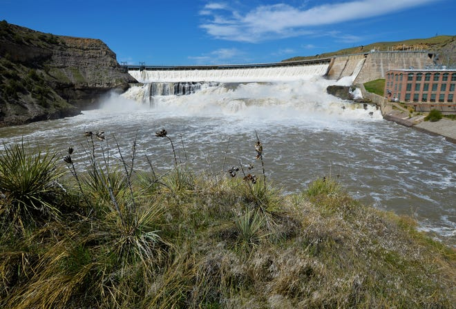 The Great Falls of the Missouri River is the site of Northwestern Energy's Ryan Dam, which was completed in 1915.