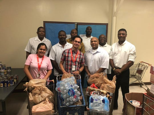 Prince Hall Masonic Family District Eight delivered food donations to the Salvation Army on November 21, 2018 for their Thanksgiving meal to the local community.