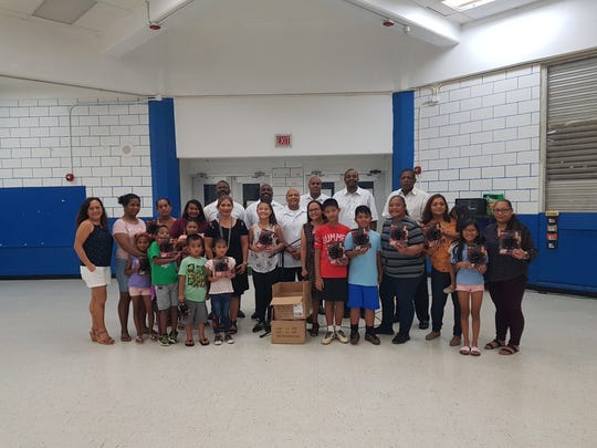 Marianas Travelers Lodge #49 donated 25 jump ropes to Marcial Sablan Elementary School for its Get Fit Program during their PTO meeting on December 12, 2018.