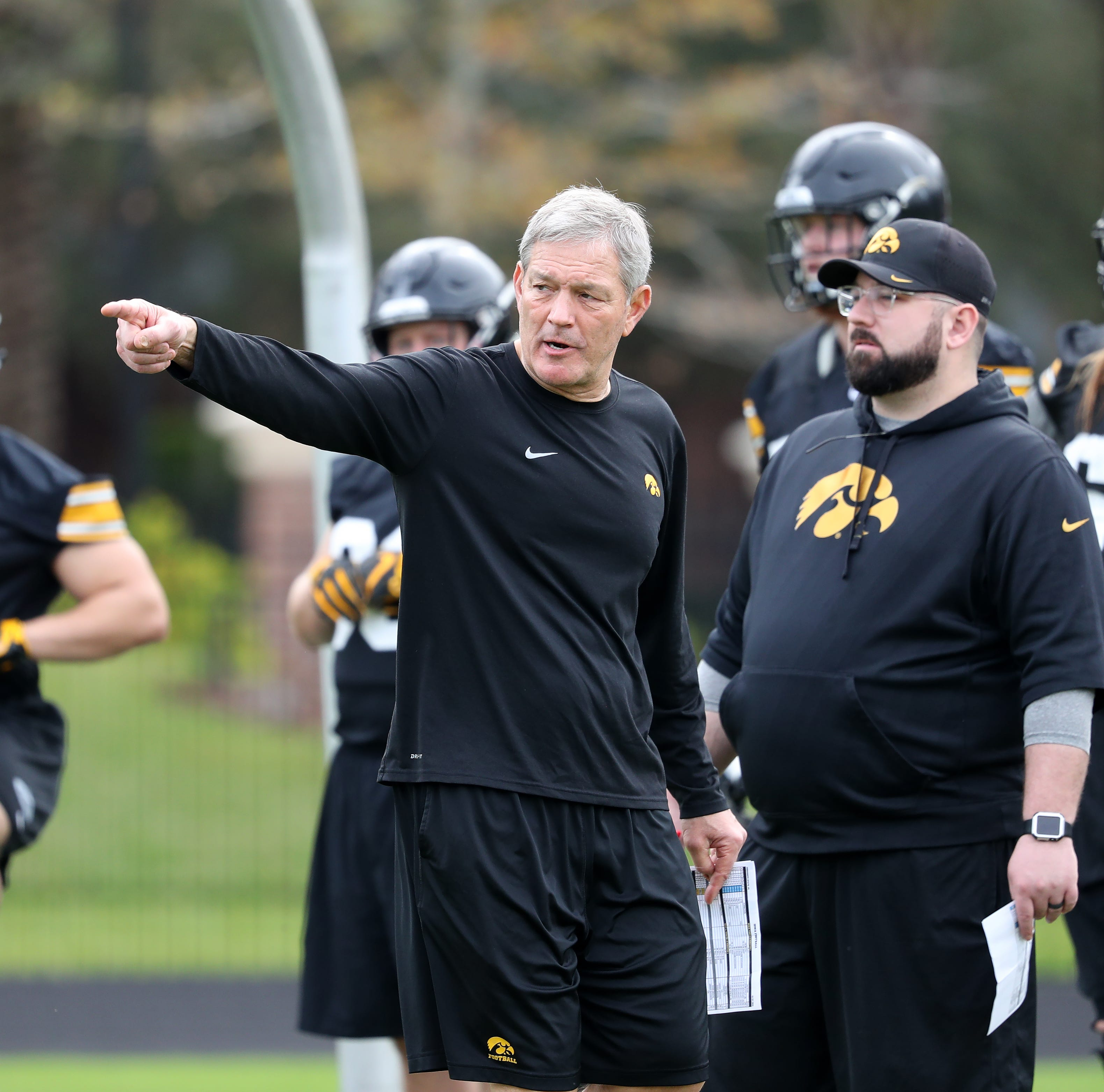 Ferentz's spring worries: Hawkeyes have depth problem on the D-line and at TE
