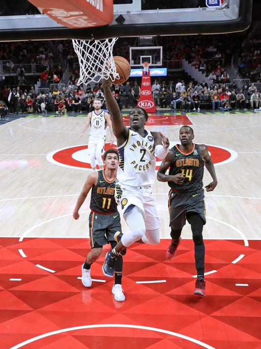 Nba Indiana Pacers At Atlanta Hawks