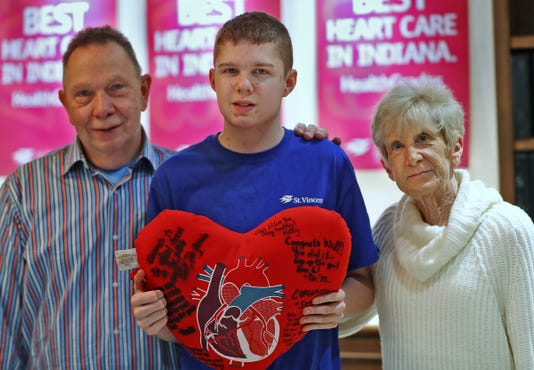 Youngest Heart Transplant Recipient At St Vincent Is Reunited With His Medical Team