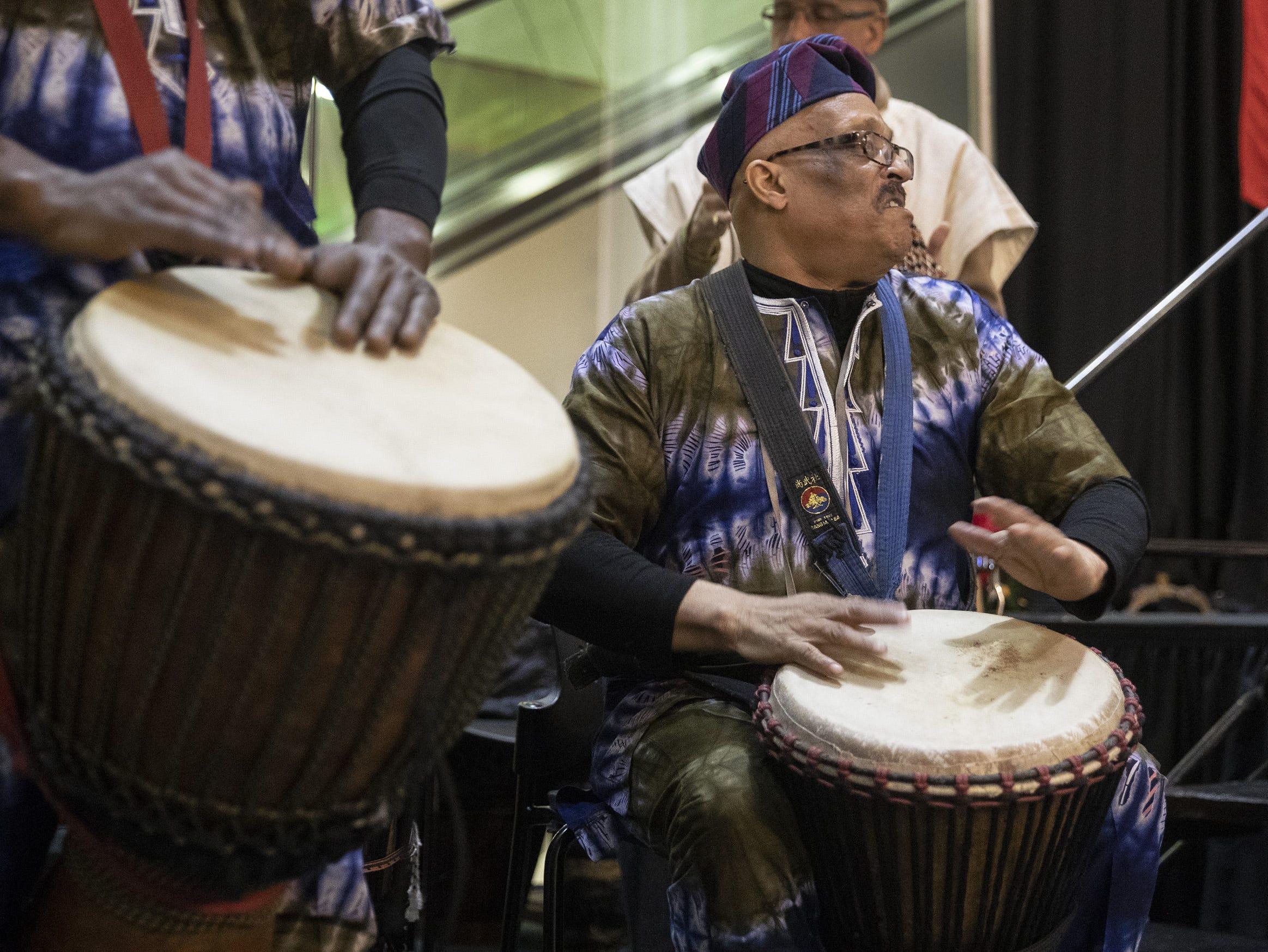 Kwanzaa Umoja Village Festival celebration at the Central Library