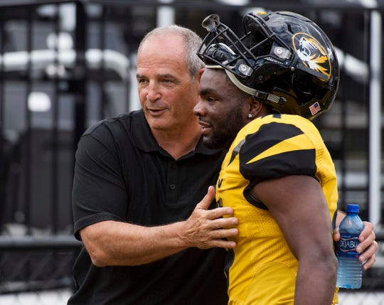Former Missouri coach Gary Pinkel was the first to give a young Matt Eberflus a shot at coaching, later hiring him as his defensive coordinator in 2001.