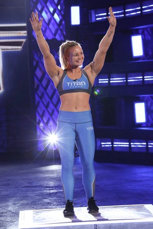 "Knoxville's Emily Andzulis is competing on the new NBC competition show ""The Titan Games."""