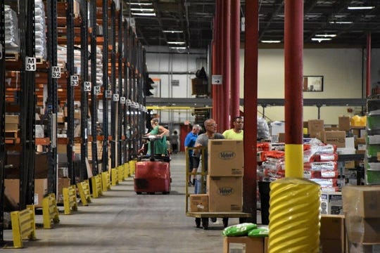 House-Hasson Hardware is trying to fill about 20 open positions in its warehouse, jobs which have been available for six months.