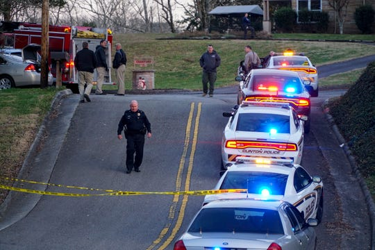 Officer from the Clinton Police Department responded to a shooting at 110 Lee Lane on Wednesday in which one person was injured.