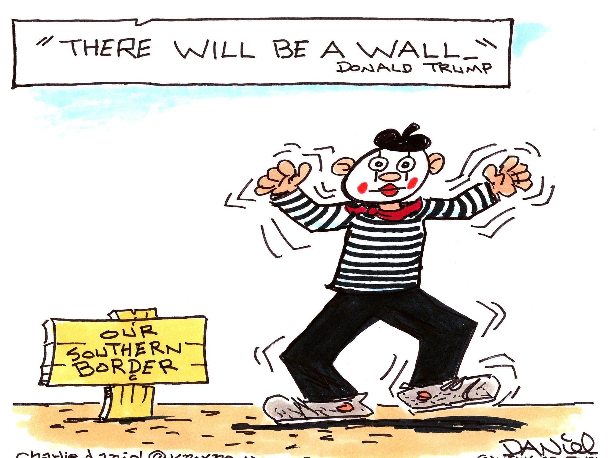 Charlie Daniel cartoon for Dec. 28, 2018