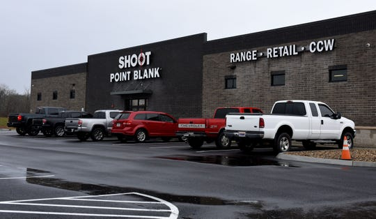 Shoot Point Blank range in Farragut off Outlet Drive Friday, Jan. 12, 2018.
