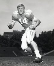 Bill Young, UT defensive back, October, 1970.