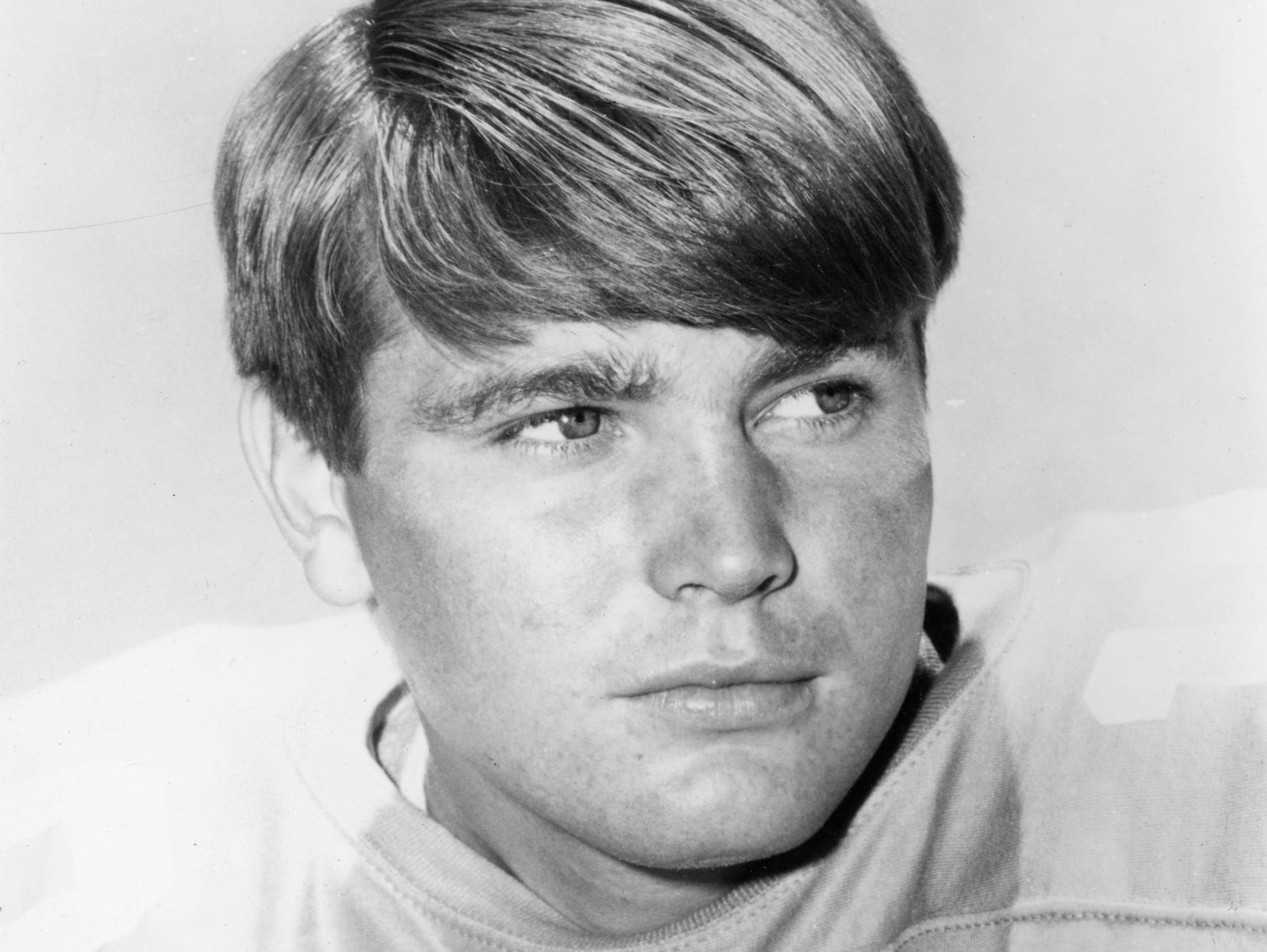 Tennessee Vols quarterback Bobby Scott on August 27, 1969.