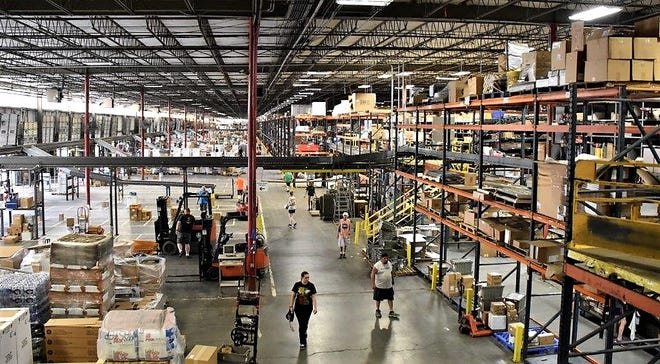 House-Hasson Hardware executives blame historic lows in the state and local unemployment rate for difficulty in filling warehouse jobs.