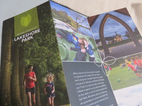 New Lakeshore Park Conservancy brochures explain how to support the park.