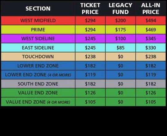 Purdue football season tickets 2019