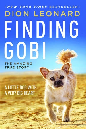 The 2019 Lafayette Reads Together book is Finding Gobi by Dion Leonard.