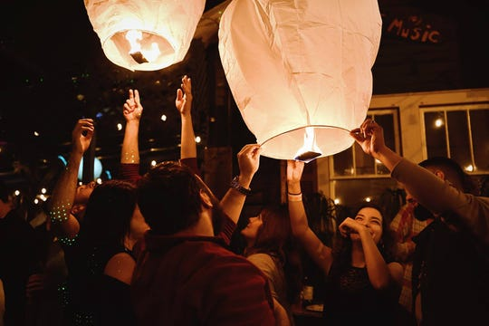 Artmosphere Bistro will hand out Chinese lanterns to welcome 2019 in Acadiana
