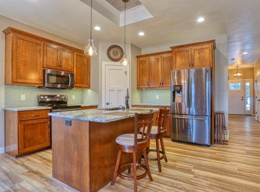 Chad Hoerth's new kitchen