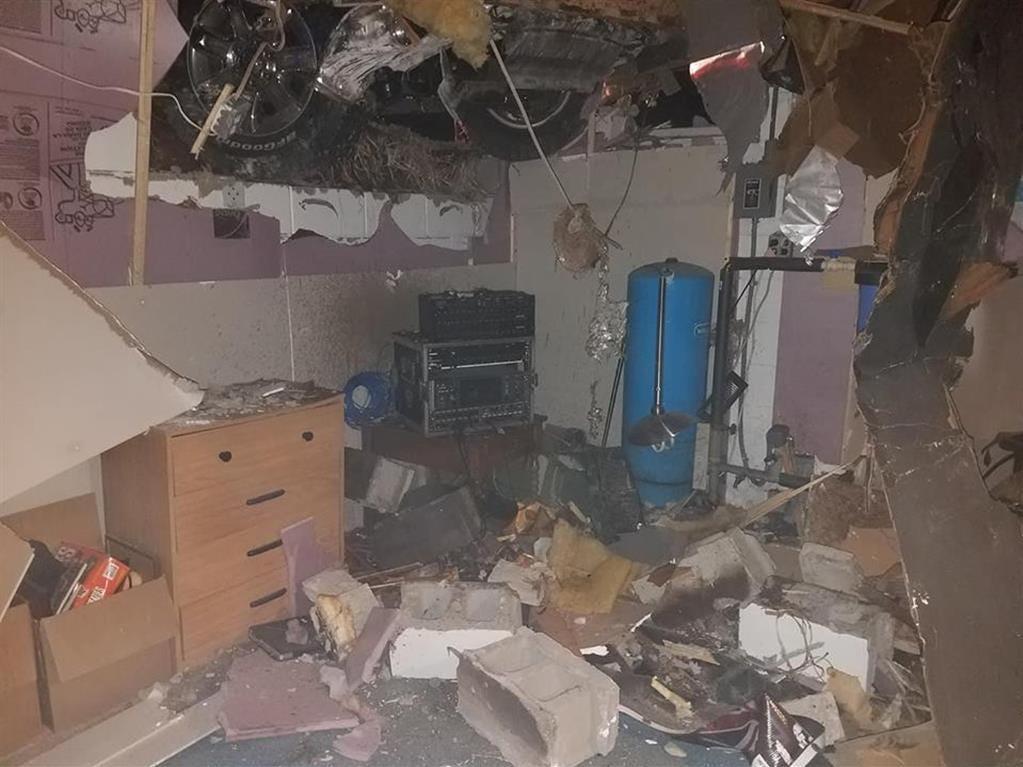 Chad Hoerth's basement
