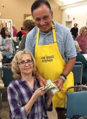 Judy Margelefsky and Chris Berquist, both with Bingo Committee member Stephen Chasin, were big winners at JCMI Bingo, held last week on a special night, Dec. 26.
