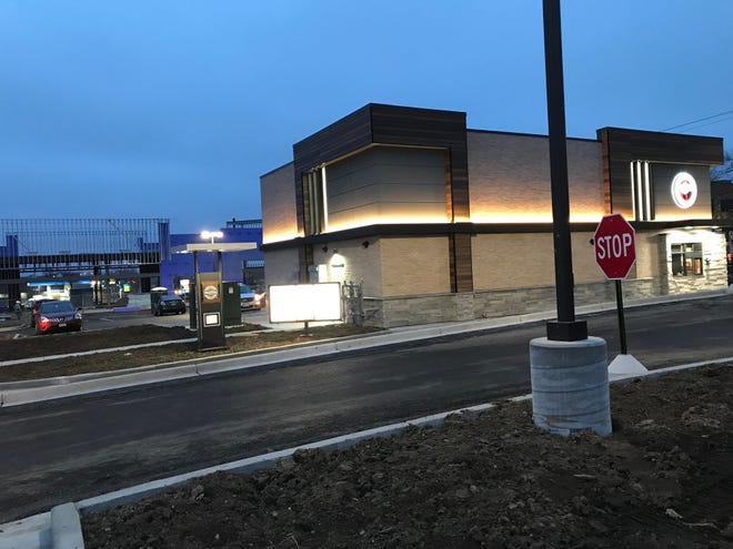 A strip mall remains under construction behind the Panda Express restaurant that opened in December on the site of the old Weissgerber's Gasthaus at Grandview Boulevard and Silvernail Road. Starbucks has been all but confirmed as a tenant in the strip mall, which will include several additional spaces for lease.