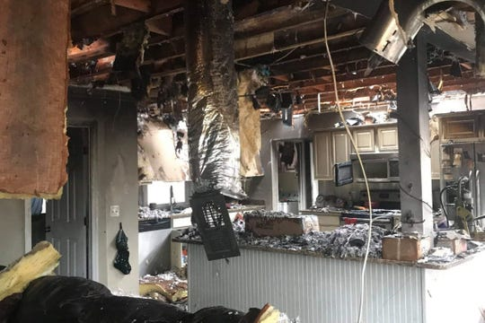 The Cowart family lost most of what they owned in a house fire in Cheatham County on Sunday, Dec. 23.