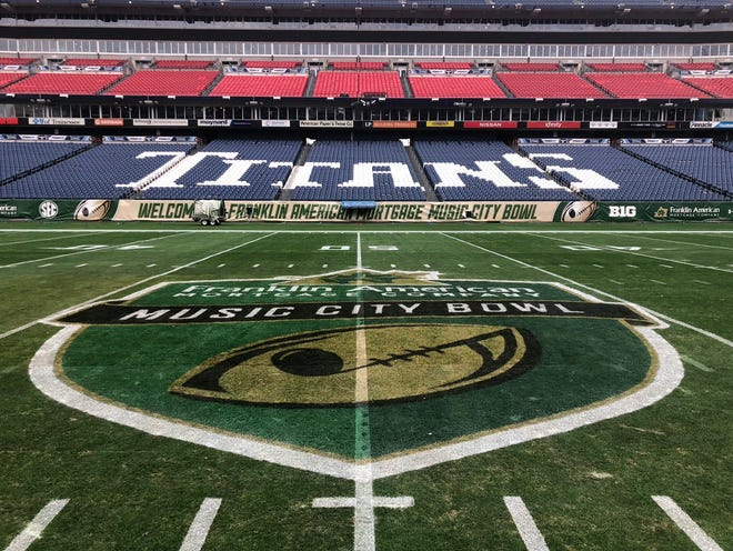 The Music City Bowl between Auburn and Purdue kicks off at 12:30 p.m. Friday at Nissan Stadium.