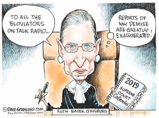 Ginsberg Cartoon