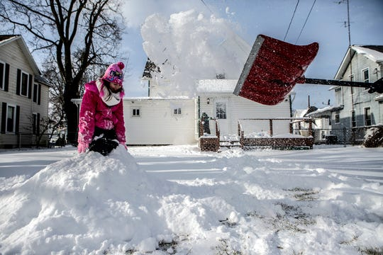 The first significant snowfall of the winter is expected Saturday in Licking County.