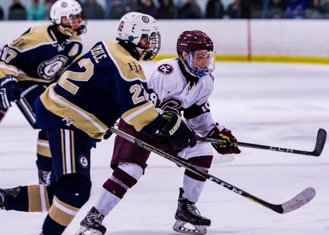 Bergen County Ice Hockey Tournament Finals. Don Bosco versus Indian Hills on  Wednesday, Jan. 17, 2018