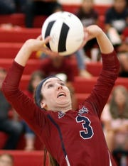 Sophomore setter Kamryn Zachek was the straw that stirred the Lady 'Cat drink.