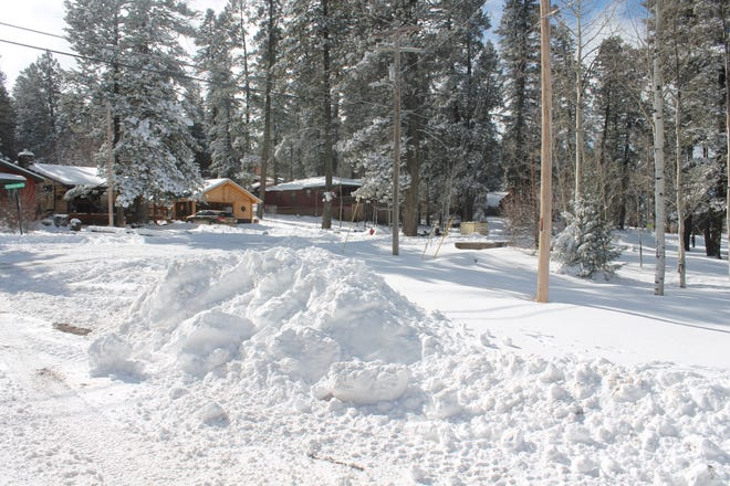 Cloudcroft received around 11 inches of snow between Wednesday, Dec. 26, and Thursday, with snow predicted for Alamogordo this weekend as well.