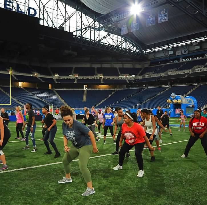 Underground music gives this group fitness program a hyped-up beat