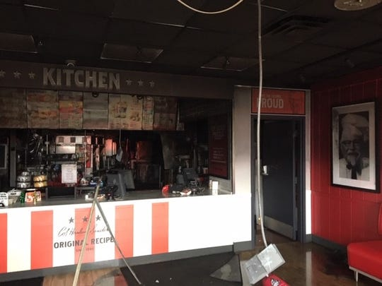The restaurant sustained heavy smoke and fire damage.