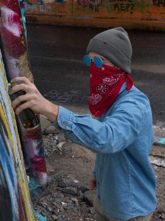 Monty Welt Street Artist