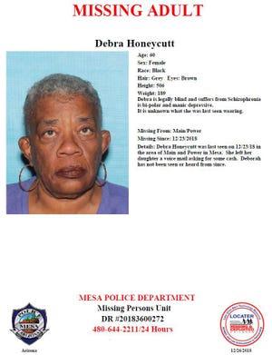 Police seek public's help in locating missing woman who was last seen Dec. 23.