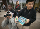 "Andre Anderson (from left), 9, Kueth Kueth, 10, and Angel Diaz, 10, all from the Tri-City West Thornwood Branch of Avondale of the Boys & Girls Clubs of Metro Phoenix, bird-watch at the Nina Mason Pulliam Rio Salado Audubon Center in Phoenix on Dec. 6, 2018. ""Arizona's River Keepers"" is an after-school program for third- through sixth-graders to expose them to the different plants and animals in the Salt River area just south of downtown Phoenix. It is a Season for Sharing grant recipient."
