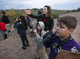 "Arjan Hyseni, 11, and other kids from the Tri-City West Thornwood Branch of Avondale of the Boys & Girls Clubs of Metro Phoenix bird-watch at the Nina Mason Pulliam Rio Salado Audubon Center in Phoenix on Dec. 6, 2018. ""Arizona's River Keepers"" is an after-school program for third- through sixth-graders to expose them to the different plants and animals in the Salt River area just south of downtown Phoenix."