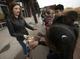 Emily Martell, a teacher/naturalist with the Nina Mason Pulliam Rio Salado Audubon Center in Phoenix, shows kids from the Tri-City West Thornwood Branch of Avondale of the Boys & Girls Clubs of Metro Phoenix the wing of a red-tailed hawk on Dec. 6, 2018.