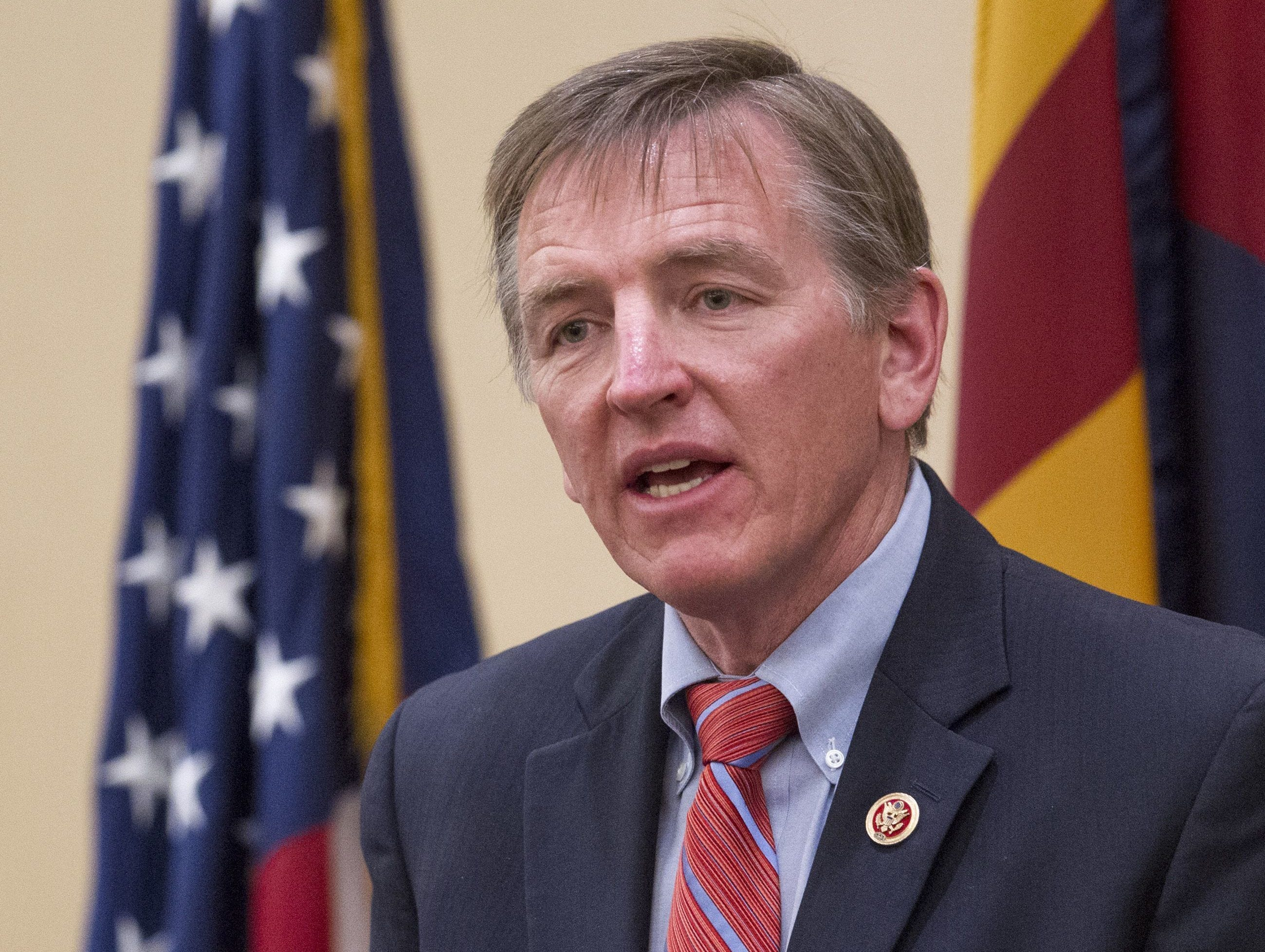 Rep. Paul Gosar Won re-election in 2018. Served four terms in the U.S. House of Representatives.