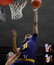 California forward Kristine Anigwe of Phoenix is among Pac-12 women's basketball players projected to be 2019 WNBA draft picks.