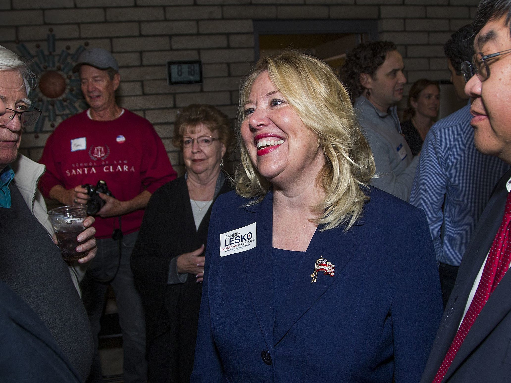 Rep. Debbie Lesko Won re-election in 2018. Served one term in the U.S. House of Representatives.