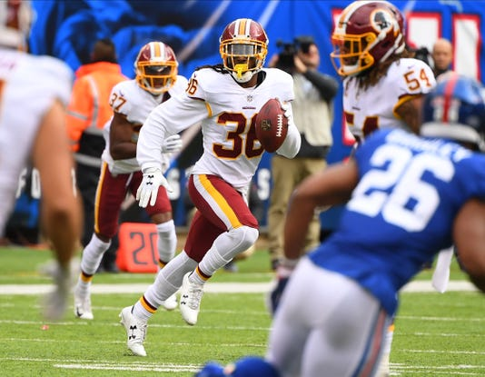 Nfl Washington Redskins At New York Giants