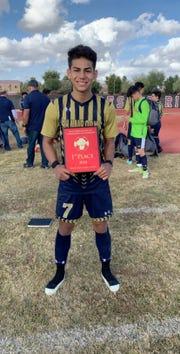 Eleuterio Gutierrez of Yuma Catholic is the Boys Athlete of the Week