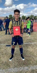Eleuterio Gutierrez of Yuma Catholic is the Boys Athlete of the Week