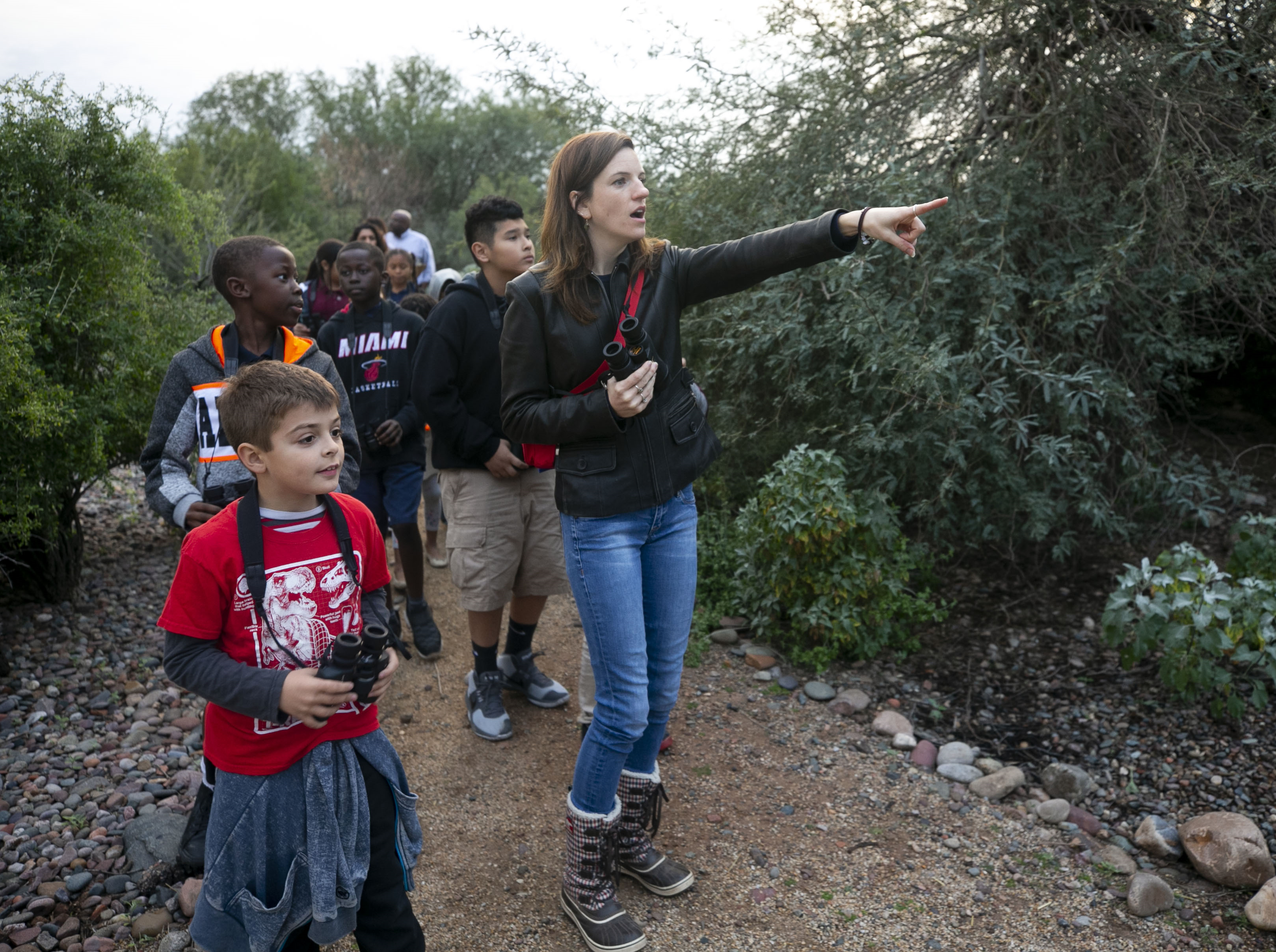 Saturday morning bird walk | Join local bird enthusiasts for a guided walk through the Rio Salado habitat restoration area. All ages, experts and novices, are all welcome. | Details: 8-9 a.m. Saturday, March 16 and 23. Nina Mason Pulliam Rio Salado Audubon Center, 3131 S. Central Ave., Phoenix. Free. 602-468-6470, riosalado.audubon.org/events/