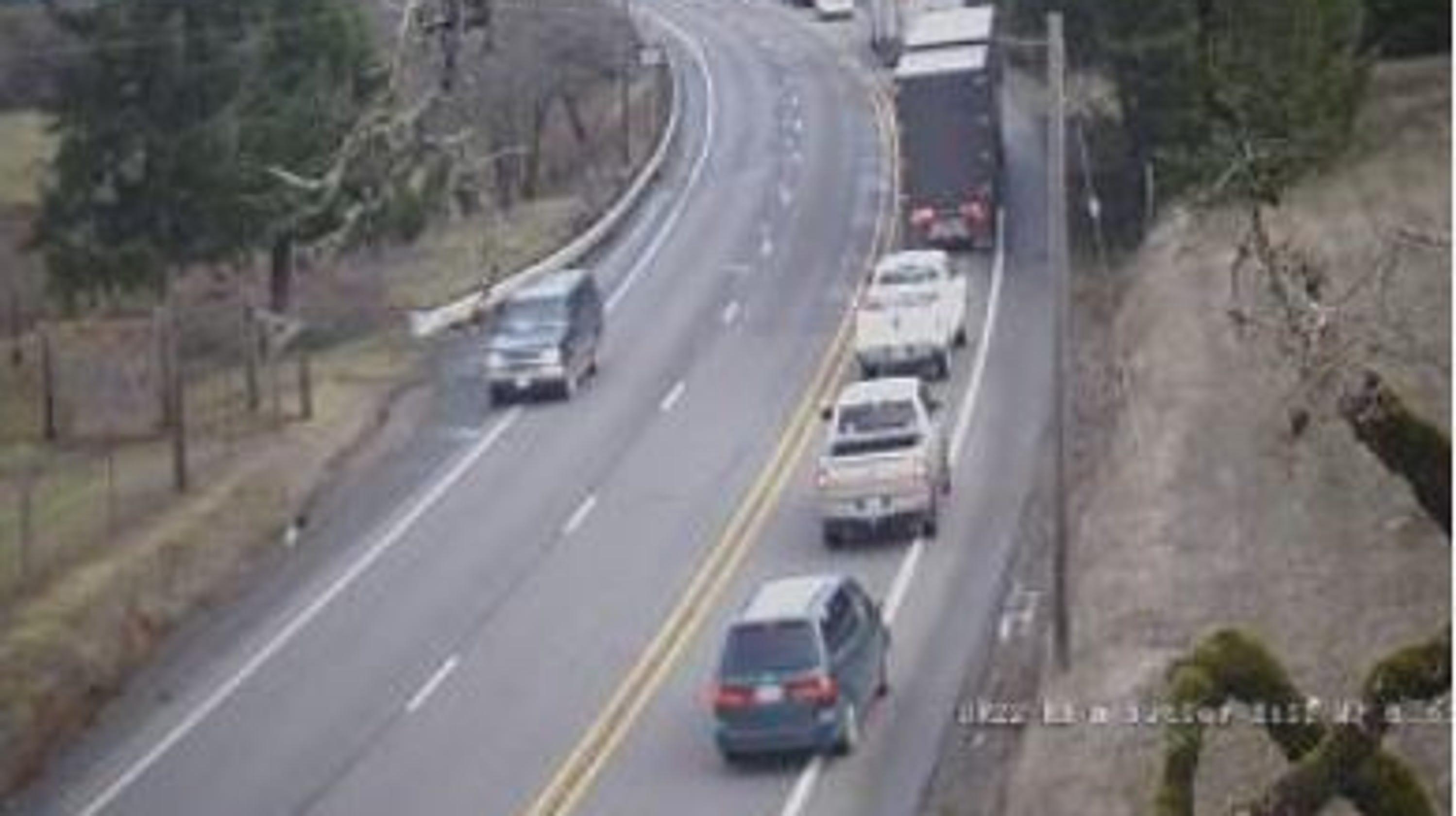 2 die after motorcycle strikes deer on highway 22 west of dallas