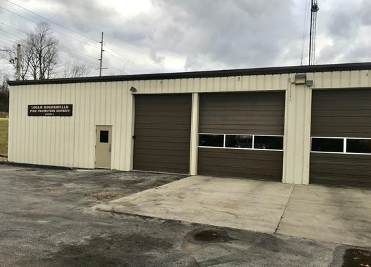 Logan-Rogersville Fire Protection District station No. 2, in photo,  is next door to Springfield station No. 12 on Blackman Road.